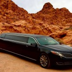Our Beautiful MKS Las Vegas Limousine at Valley of Fire